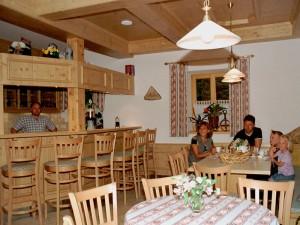 Ferienhof Straußberger - Frühstücksraum